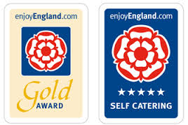 Awarded self catering 5 STAR GOLD accolade